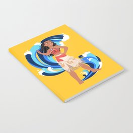 Moana and the Ocean's Waves Notebook