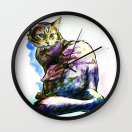 Ms. KittyLittleHead Wall Clock