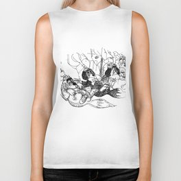 nana sketchbook shirt Biker Tank