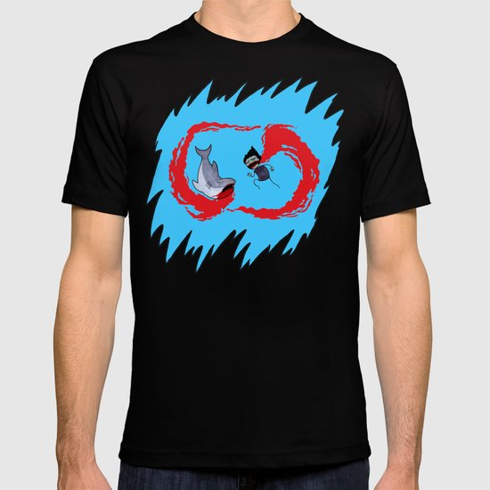Zombie vs Shark! T-shirt