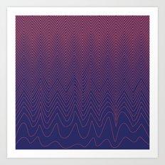 Good Vibrations Art Print