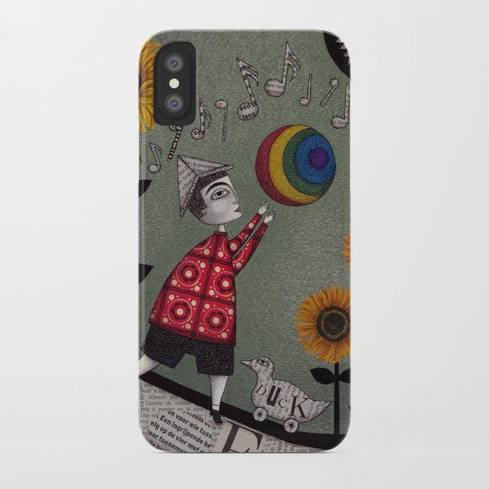 Henry's Rainbow iPhone Case