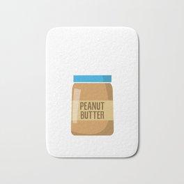 Peanut-butter Man Bath Mat