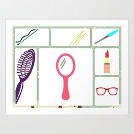 for woman Art Print