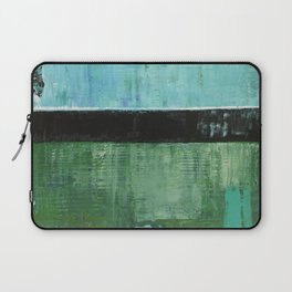 Sky Blue Sky Contemporary Abstract Landscape McNulty Laptop Sleeve