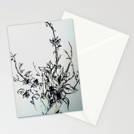 Lonely Bud Stationery Cards