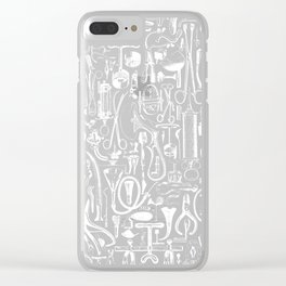 Medical Condition VINTAGE FRANKENSTEIN / Take two of these and call me in the morning Clear iPhone Case