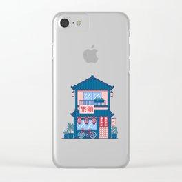 Ramen shop Clear iPhone Case