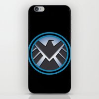 shield iPhone & iPod Skins featuring Shield by livinginamovie