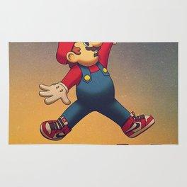 Air Mario Jumpman Rug