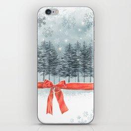 wintertrees iPhone Skin
