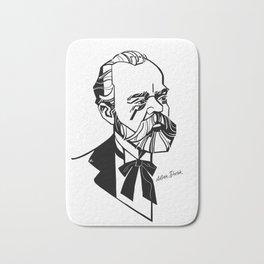Antonín Dvořák Bath Mat