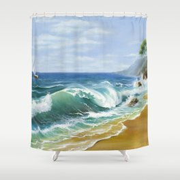Crimea Shower Curtain