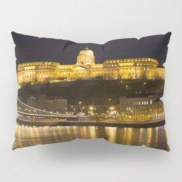 Budapest Chain Bridge And Castle Pillow Sham