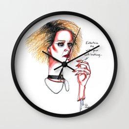 Hypodermic Sally #3 Wall Clock
