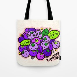 Team Blueberries (Coloured) Tote Bag