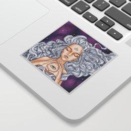 Take a look around Sticker