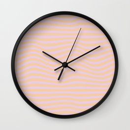Wave Coulier Wall Clock