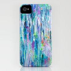 Silver Rain Slim Case iPhone (4, 4s)