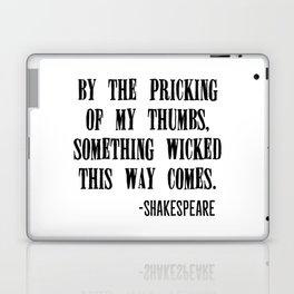 Shakespeare's Halloween Laptop & iPad Skin