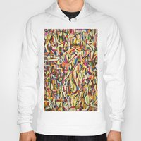 mexico Hoodies featuring Mexico by Jose Luis