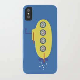 The Beagles - Yellow Submarine iPhone Case