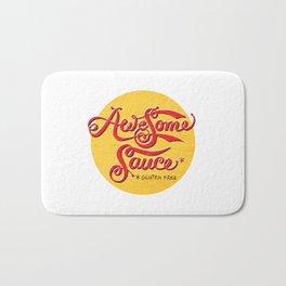 Awesome Sauce (gold) Bath Mat