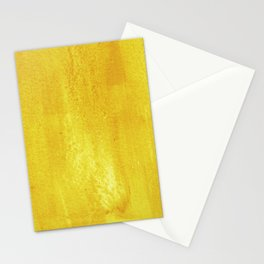 Brushed Yellow Stationery Cards