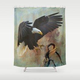 Eagle's Landing Shower Curtain
