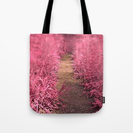 Windy Goose Creek Trail - Tickle Me Pink Tote Bag
