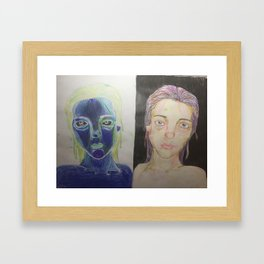 Negativity Framed Art Print