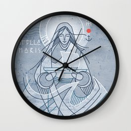 Mary Star of the Sea Wall Clock