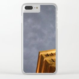 #28Photo #RainClouds #Abstact #VisualJournal Clear iPhone Case