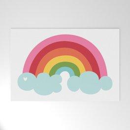 Rainbow Welcome Mat