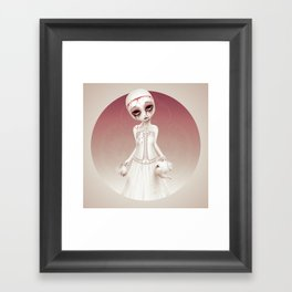 Wonderlost - Mad Hatter Framed Art Print
