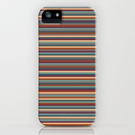Stripes, Stripes, and More Stripes iPhone Case