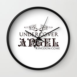 Undercover Angel: Kingdom Come Series Wall Clock