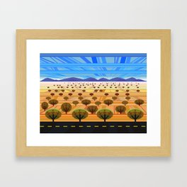 Northern Arizona Landscape Framed Art Print