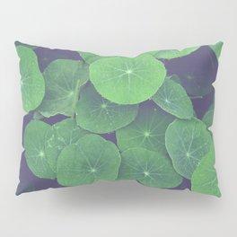 Nasturtium Leaves Pillow Sham