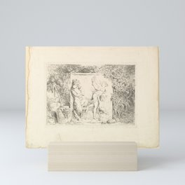 The Satyrs' Dance Mini Art Print
