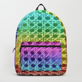 Rainbow Weave Backpack