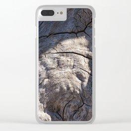 Burl Clear iPhone Case