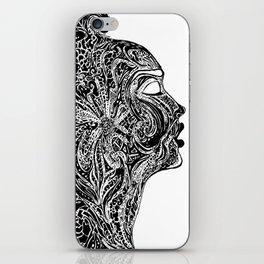 Emerging Face iPhone Skin