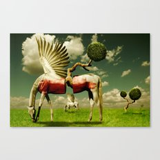 Pegasus Divided Canvas Print
