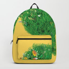 Floral heart Backpack
