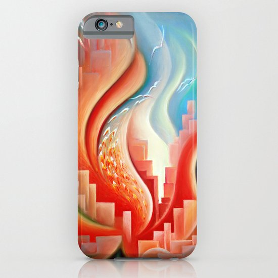 Hibiscus City iPhone & iPod Case