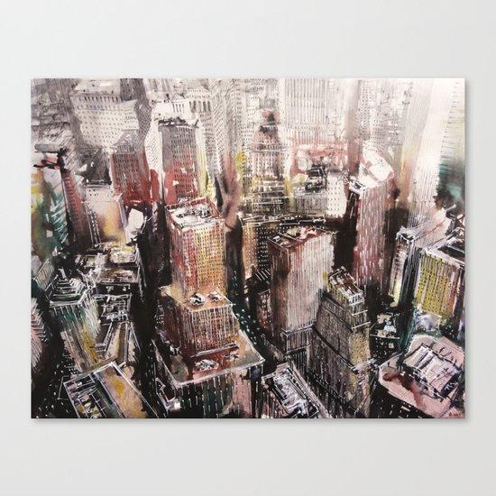 Roofs N°1 Canvas Print