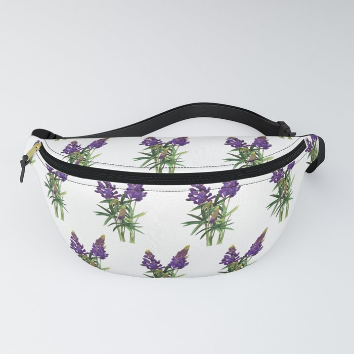 Lovely Lupine Wildflowers Fanny Pack