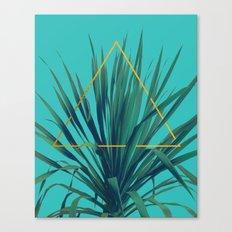Geometric Fountain Canvas Print