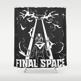 Espace F Shower Curtain